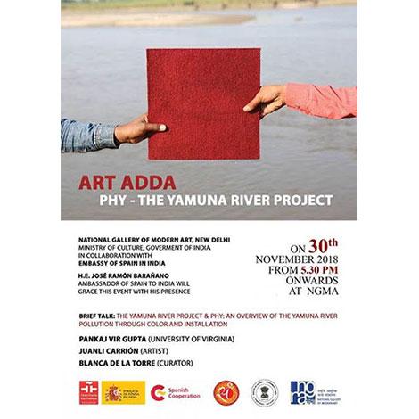 Art Adda – Phy – The Yamuna River Project