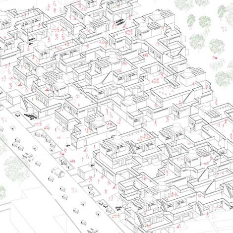 Housing the Periphery: Southeast Jaipur Informal Settlement // Emmett Debree