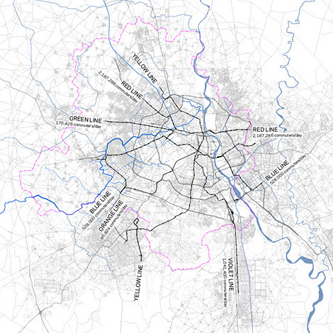 Mapping Delhi's Basic Mobility Systems