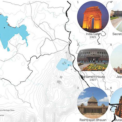 Mapping Delhi through Indian Empires