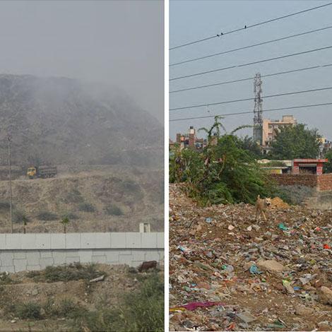 Mapping Delhi Landfills