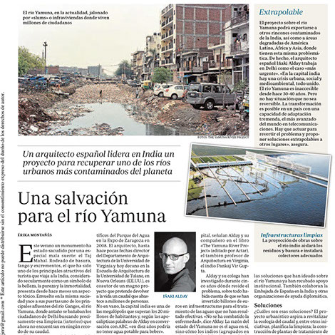 Yamuna River Project in ABC Sociedad, Spain