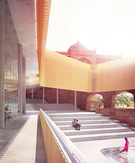 Purana Qila People's Library of Delhi