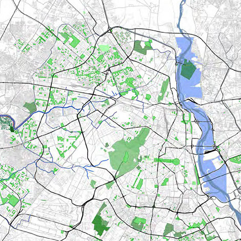 Najafgahr Drain: Green Space and the Park Model