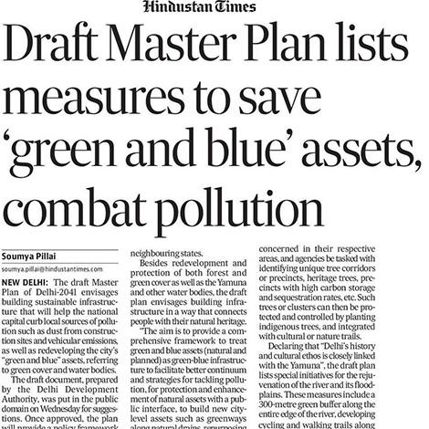 New Delhi 2041 Master Plan YRP Framework
